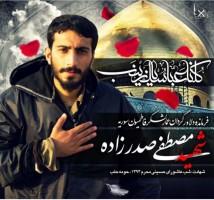 شهید مدافع حرم مصطفی صدرزاده