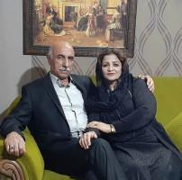 شادروان کمال داغستانی و نوشین حسینی